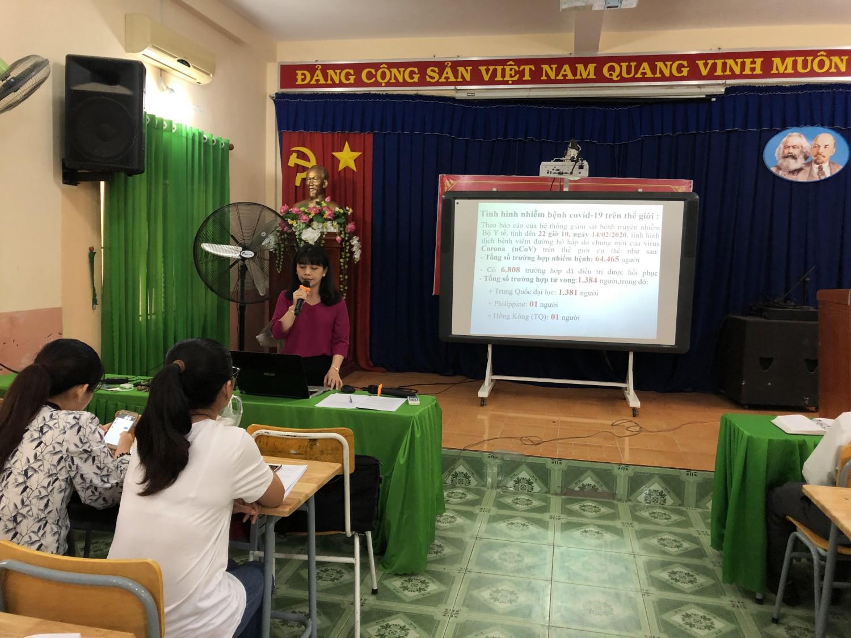 Trường THCS Phú Cường: Tập Huấn Phòng Chống Vi rút Corona Và Tổng Vệ Sinh Trường Học